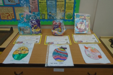 Easter Egg Competition at Ravensfield Club
