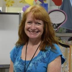 Mrs Johnson at Ravensfield Parimary School