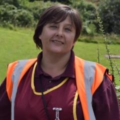 Miss Wood at Ravensfield Parimary School